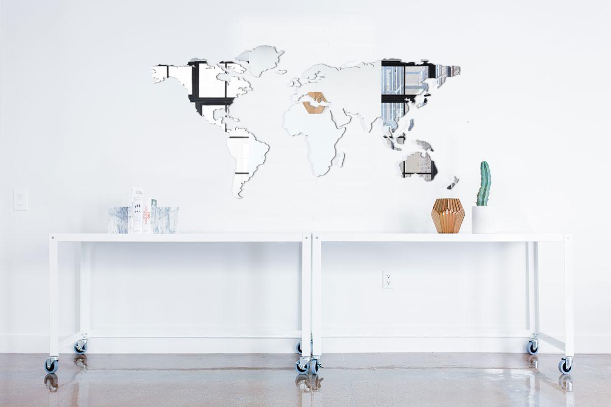 miroir acrylique d coup sur mesure marel sarl. Black Bedroom Furniture Sets. Home Design Ideas